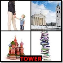 TOWER- 4 Pics 1 Word Answers 3 Letters