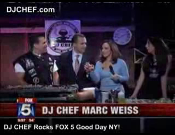 DJ CHEF | The Chef That Rocks : DJ CHEF FOX 5 GOOD DAY NY
