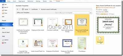 Download template sertifikat ms word 2010