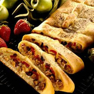 Italian Sausage Appetizer Bread.