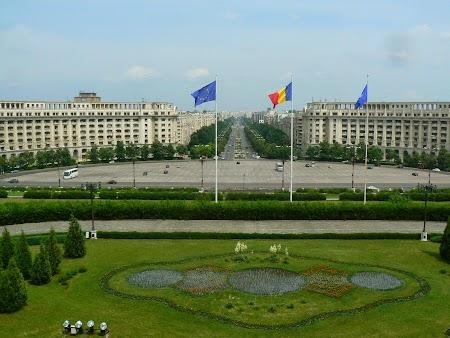 09. Panorama din Palatul Parlamentului - Bucuresti.JPG