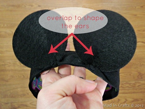 curved mickey ears