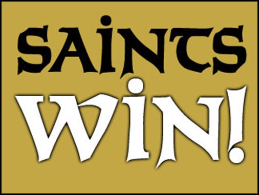 saints win
