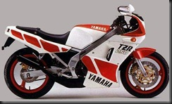 Yamaha TZR250 85  1