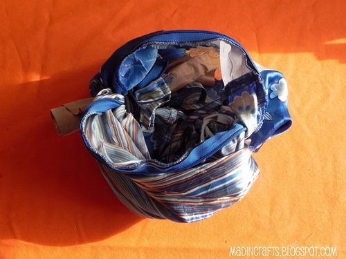 fabric pumpkin rubber bands