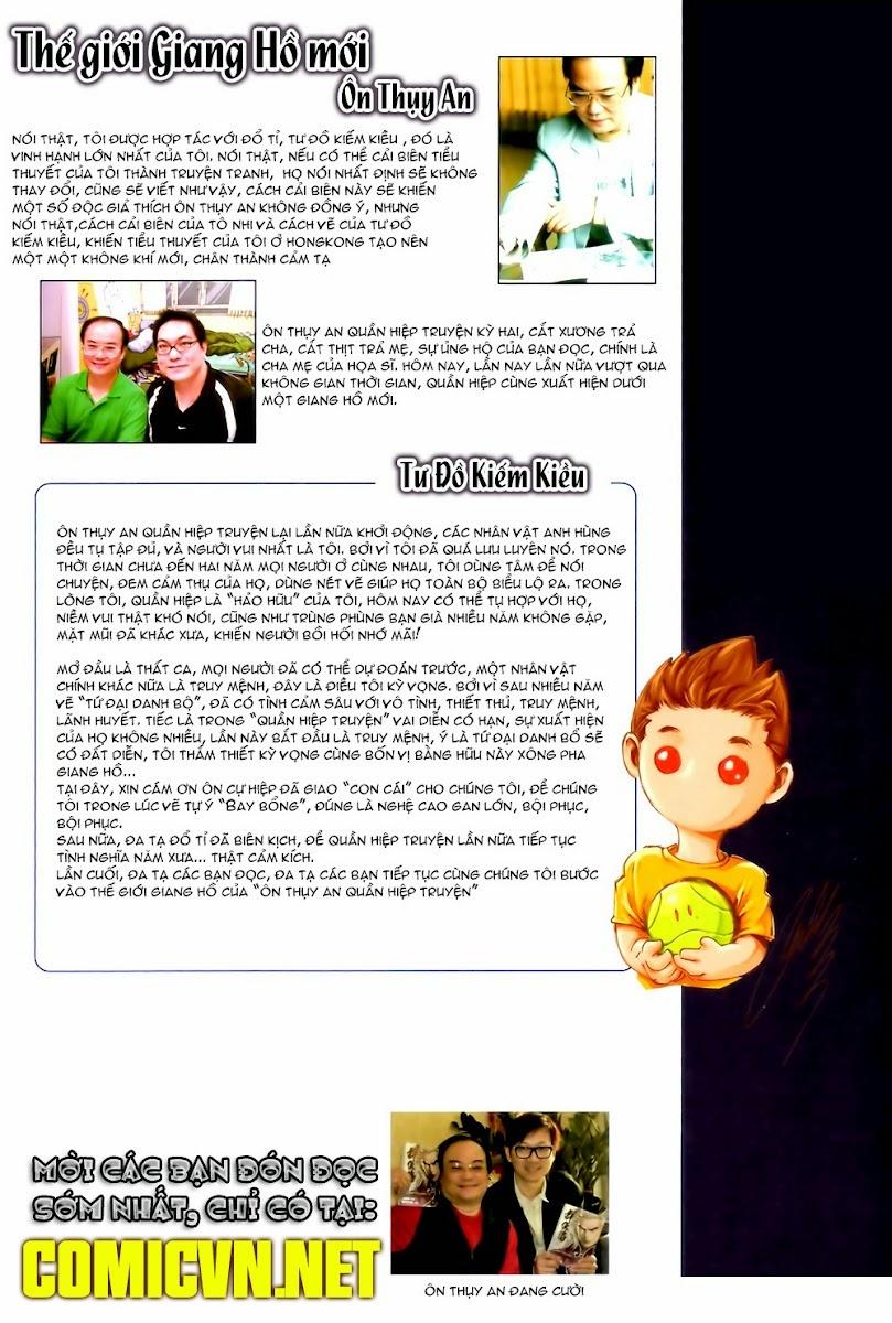Ôn Thuỵ An Quần Hiệp Truyện Phần 2 chapter 1 trang 2