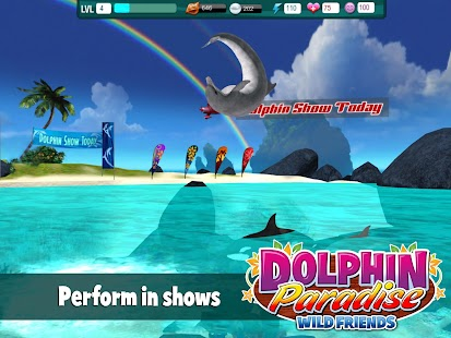 Dolphin Paradise: Wild Friends- screenshot thumbnail