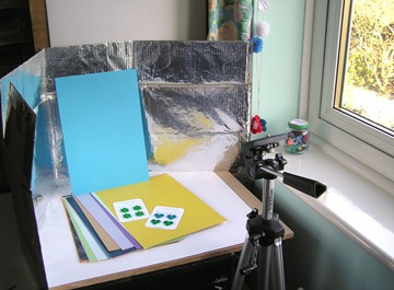 My photography set up 1