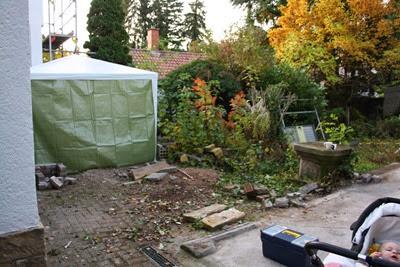 Otten Gartengestaltung, fräulein otten: vorher/nachher hinterer garten mit terrasse, Design ideen