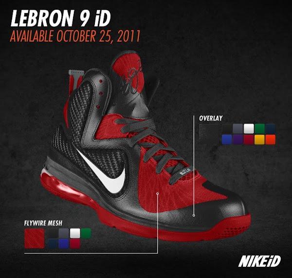 hieno tyyli paras verkkosivusto erilaisia tyylejä Nike LeBron 9 iD Preview vol. You won't be able to make your ...