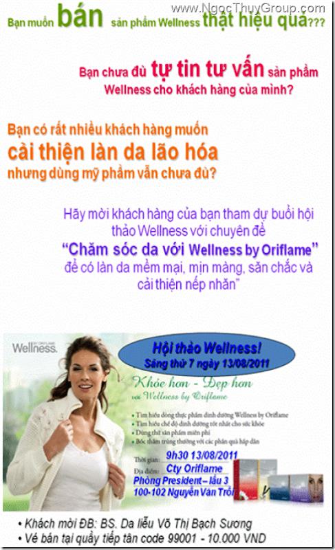 Oriflame - Hoi Thao Wellness 13-08-2011