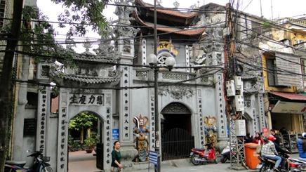 Hanói - Templo no Old Quarter