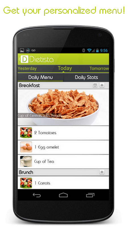 Dietista - Your Nutritionist - screenshot