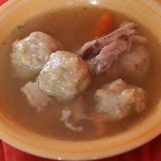 Slow Cooker Matzo Ball Soup.