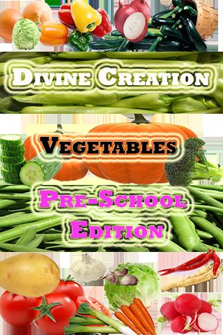 vegetables Pre-School Edition