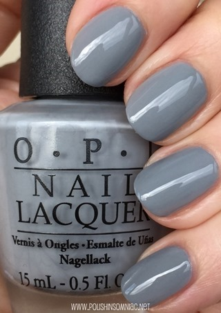 Polish Insomniac Opi Fifty Shades Of Grey Swatches And
