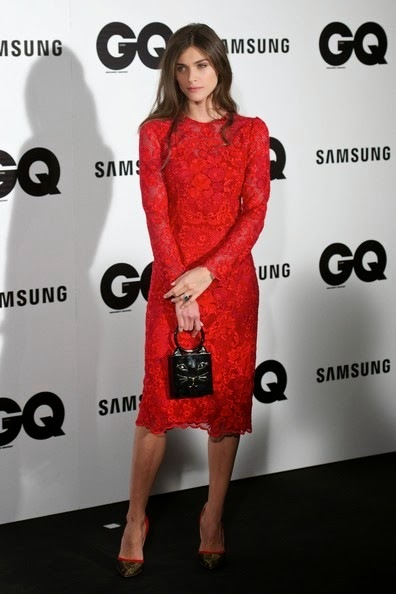 Elisa Sednaoui attends the GQ 2014 Men of the Year awards