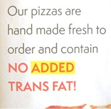 How much trans fat?