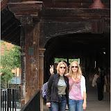 Edith und Linda auf der Spreuerbrücke