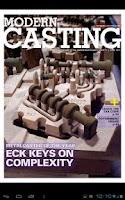Screenshot of Metalcasting Newsstand