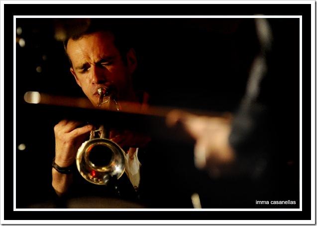 Peter Judge (Jamboree Jazz Club, Barcelona, 5/8/2011)