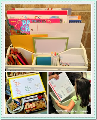 Making Family Mailboxes from Little Wonders Days