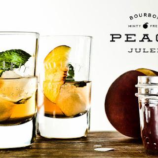 Bourbon Peach Julep Fizz