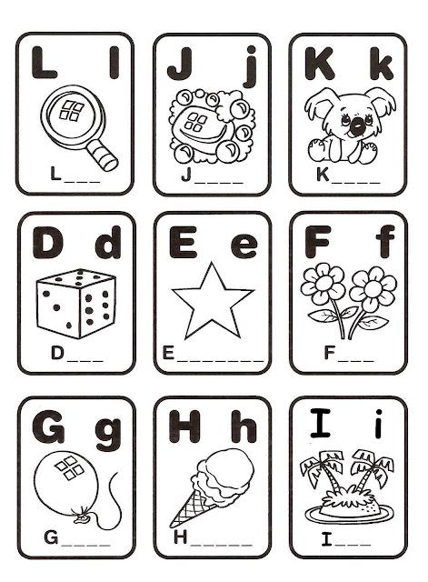 Loteria Para Colorear Y Formar Palabras