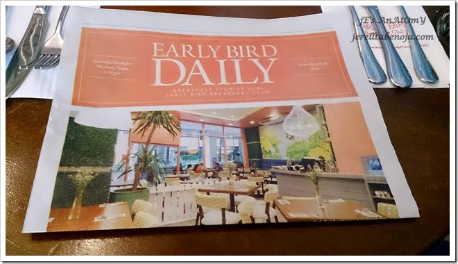 Early Bird Breakfast Club, The Fort Strip, BGC