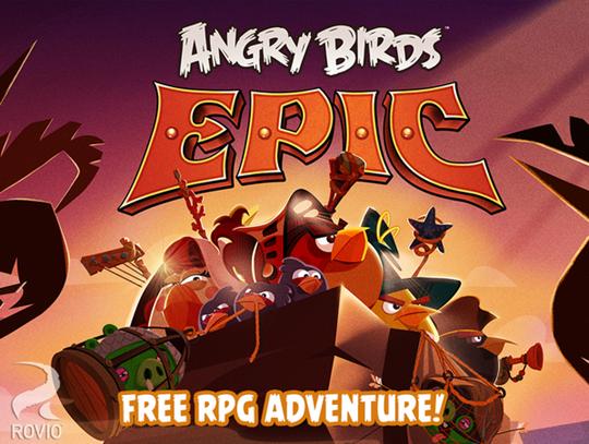 لعبة Angry Birds Epic الطيور الغاضبة لأبل iOS