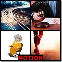 MOTION- 4 Pics 1 Word Answers 3 Letters