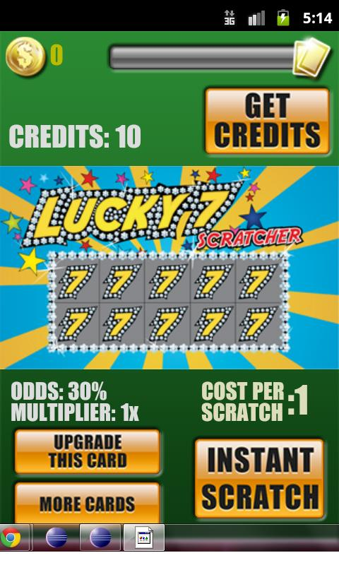 Super Scratch Offs Lotto Game - screenshot