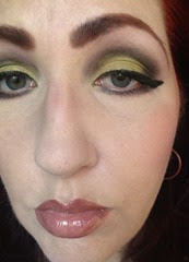 NARS Adult Swim Look 1_full face eyes cast downward