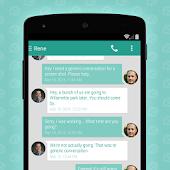 App EvolveSMS Theme - L Hangouts APK for Windows Phone
