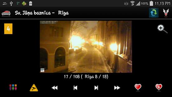 Latvijas vebkameras - screenshot thumbnail