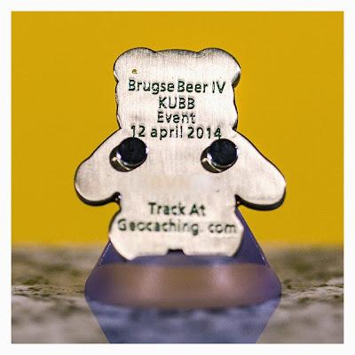 Brugse Beer IV Eventcoin: Bär Rückseite