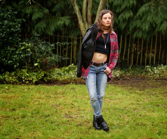 New Look denim how to style ripped jeans