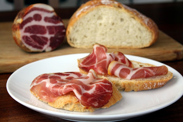 Homemade Coppa