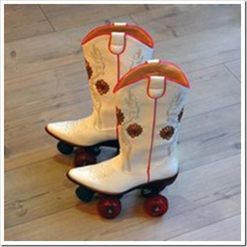 cowgirl boot roller skates