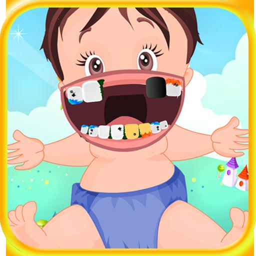 歯医者で赤ちゃん 休閒 LOGO-玩APPs