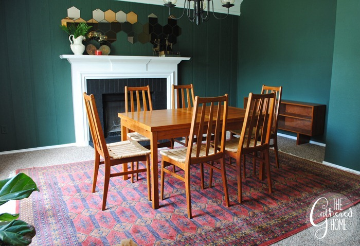 found midcentury teak dining set2