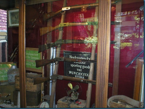 Winchester Gun Collection at Sarah Winchester's Home