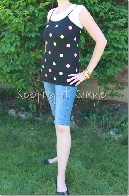 NEON polka dot shirt (1)