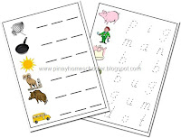 CVC Word Trace and Spell Worksheets