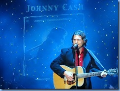 9446 Nashville, Tennessee - General Jackson Showboat Dinner Cruise - two-story Victorian Theater - Country Music U S A show - tribute to Johnny Cash