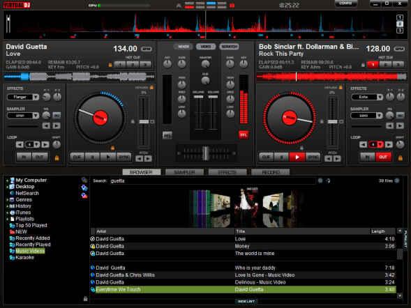 Virtual DJ home: programa para mezclar musica gratis