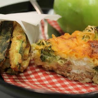 Broccoli & Cheeseburger Bake.
