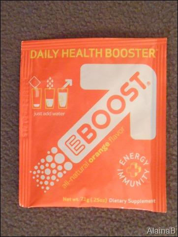 Beauty Blogger's VoxBox eboost health booster
