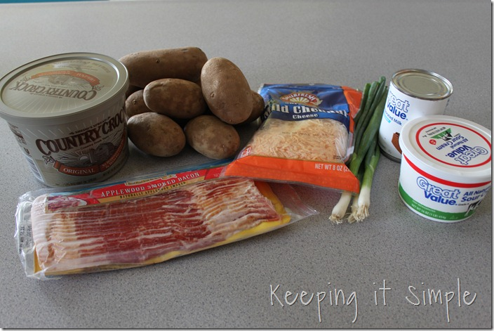 Loaded mashed potato casserole (1)