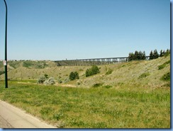 1631 Alberta Lethbridge - view of High Level Bridge from 3 Ave South